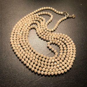 LOFT beaded extra long necklace